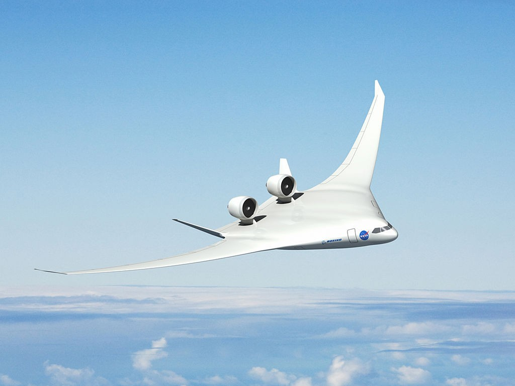Boeing Concept Blended Wing Plane