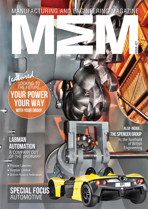 Manufacturing & Engineering Magazine Issue 427 Cover