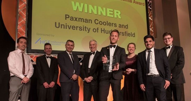 UK Healthcare Manufacturer Paxman Wins Award For Innovation In Cancer Care