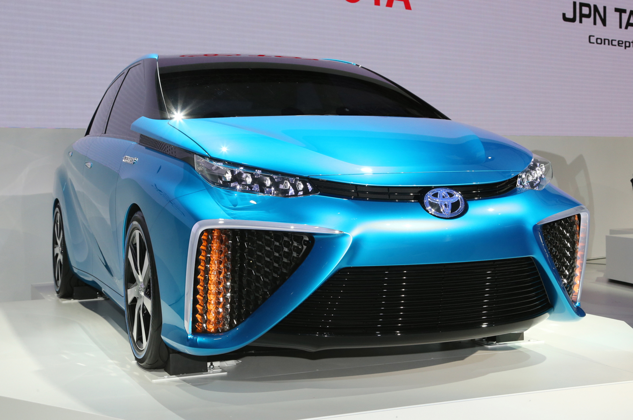 Toyota Delivers First Ever Hydrogen Powered Car
