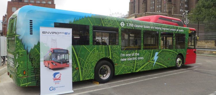 Central London Electric Bus Routes to be Rolled Out by End of Year
