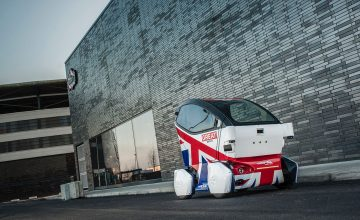 RDM Group Demonstrates Full Size Driverless Vehicle