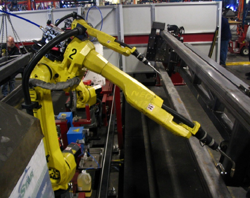 Low Cost Robot Palletising Cell Developed By CKF