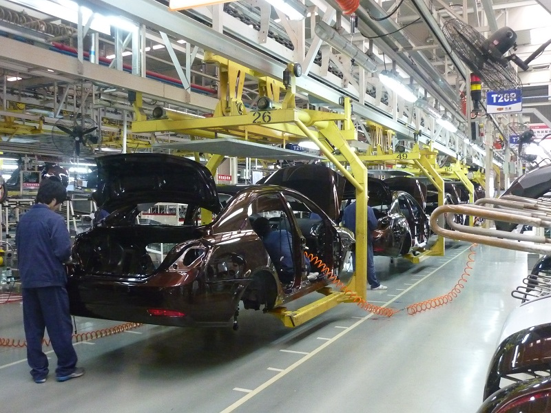 Britain's Car Manufacturing Establishments Are On The Way Up!