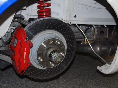 Increased Caliper Coverage from Brake Engineering
