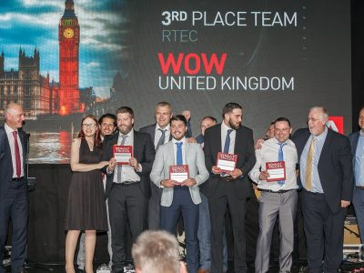 British Team Working at Woodwards Truck and Van Center Managed to Achieve Third Place