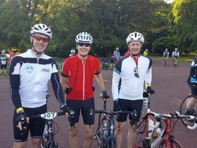 Keith Sedgley Managed to Complete a 133 Miles Cycling Challenge