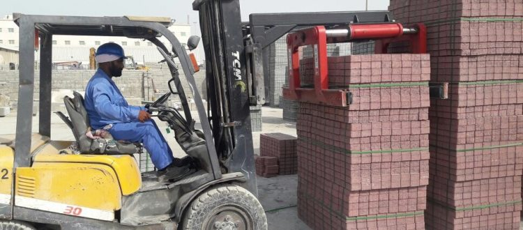 B&B Attatchments Supply Arabian German Co Ltd with Forklift Solutions