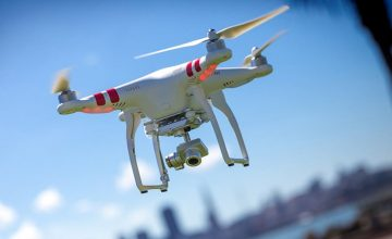 Could Drones be used for Neighbourhood CCTV in the Future