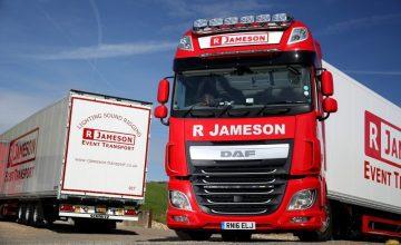 Schmitz Cargobull Deliver new Trailers to R Jameson Event Transport