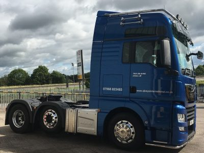 MAN Company Has Recently Supplied Their First MAN TGX26.640 Performance Line Vehicle