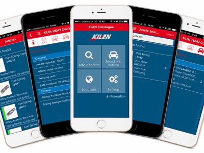 Kilen Springs New Catalogue App