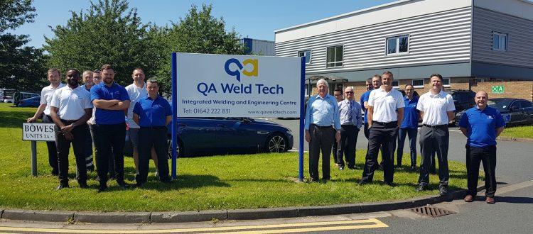 QA Weld Tech Undergoes Training at Derwentside College to Boost Skills