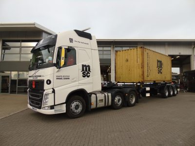 Krone Manufacture new Box Liner Container Carrier
