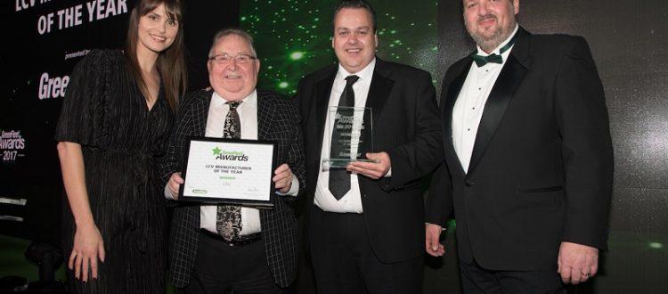 LDV Wins LCV Manufacturer of the Year at GreenFleet Awards