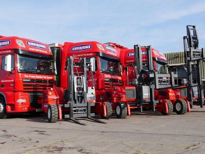 ABT Loadmac Manufacture new Forklifts for Barrus