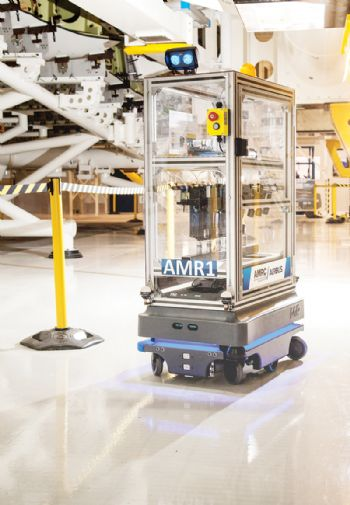 Airbus Trials Robots as Vehicles