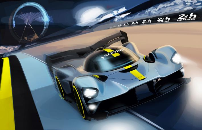 Aston Martin to Race a Valkyrie Hypercar in 2021