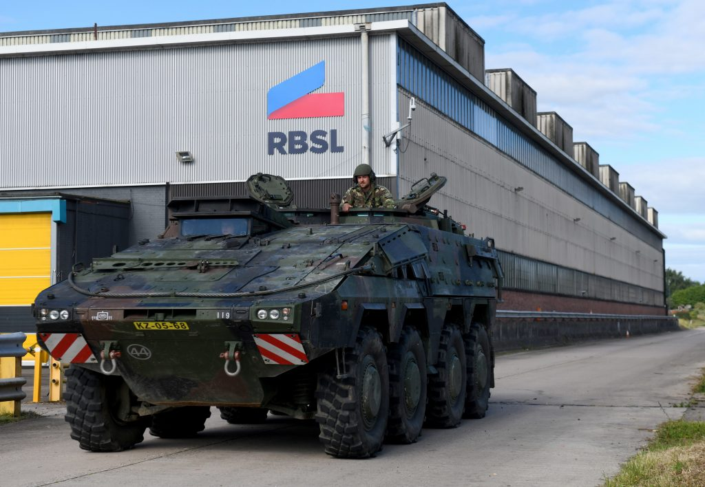 Rheinmetall and BAE Systems Launch Military Vehicle Joint Venture