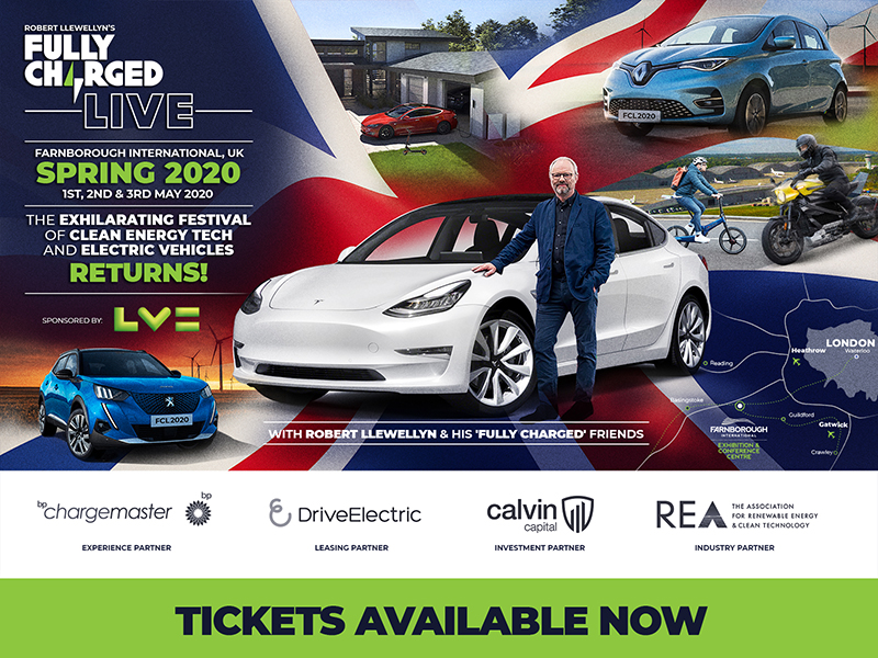 Fully Charged Show Set to Take Off in 2020