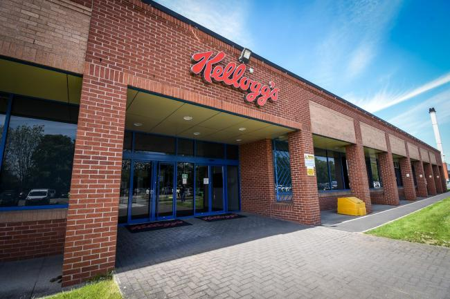 Kellogg's Factory Employees Donate to Local Charities
