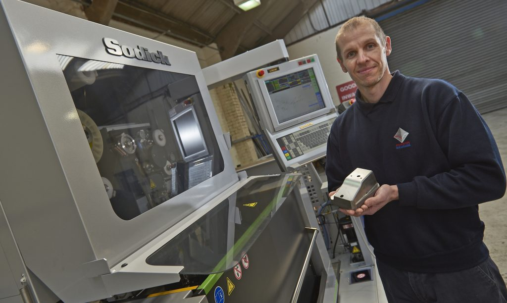 Sodick Wire EDM Provides Pemberton Engineering with 25% More Speed