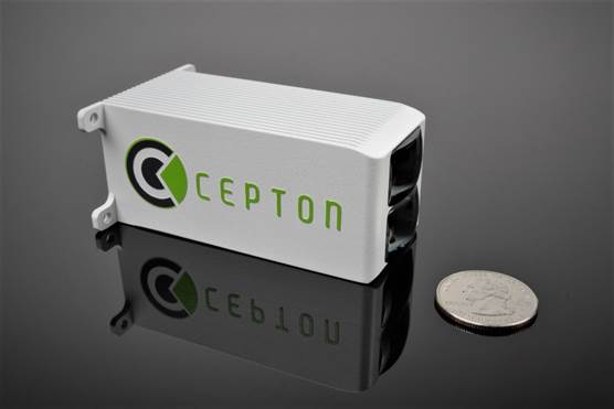 Cepton Introduces the World's Smallest Wide Field of View Lidar Sensor