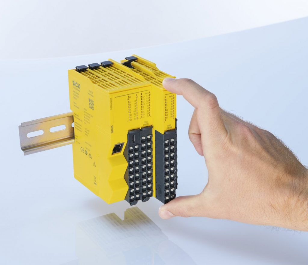 SICK's Flexi Compact, Neat and Compact Mid-Range Safety Controller