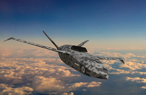 £30M Contract for UK's First Uncrewed Fighter Aircraft