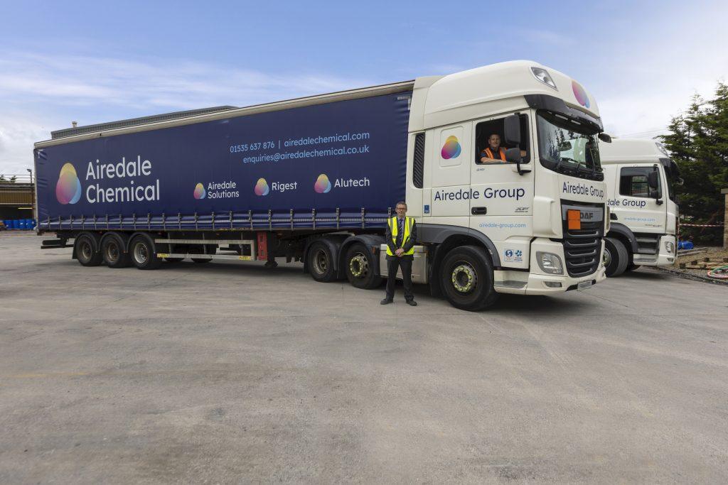 Chemical Company Gets a Fresh Fleet Look