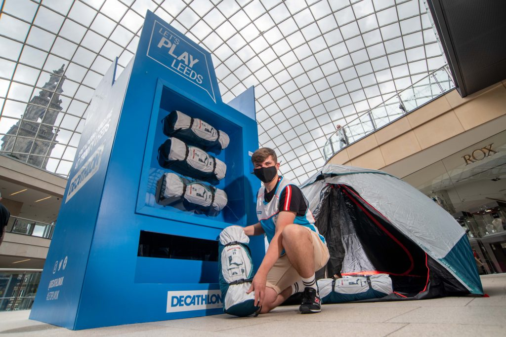 One-Of-A-Kind Tent Vending Machine Launches in Leeds