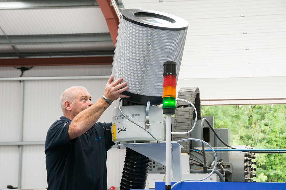 First Filtermist Oil Mist Filter Service Included with Every Installed Unit