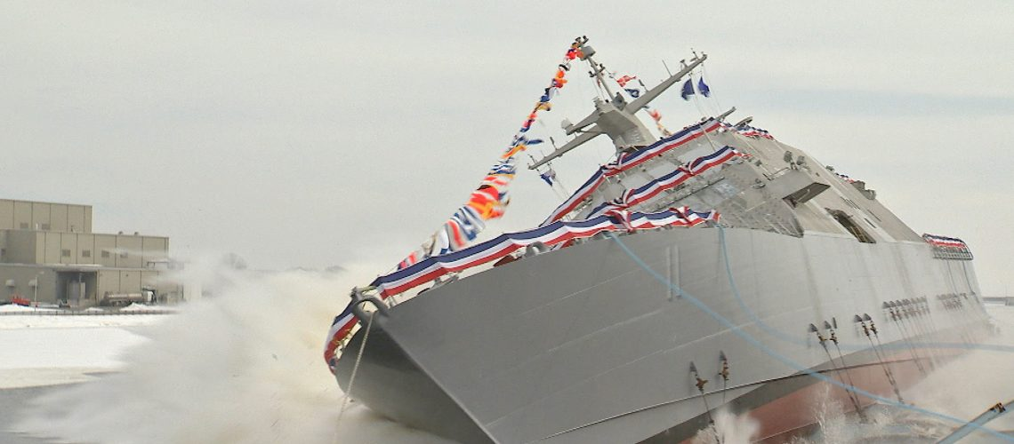US Combat Ship Commissioned as USS Sioux City