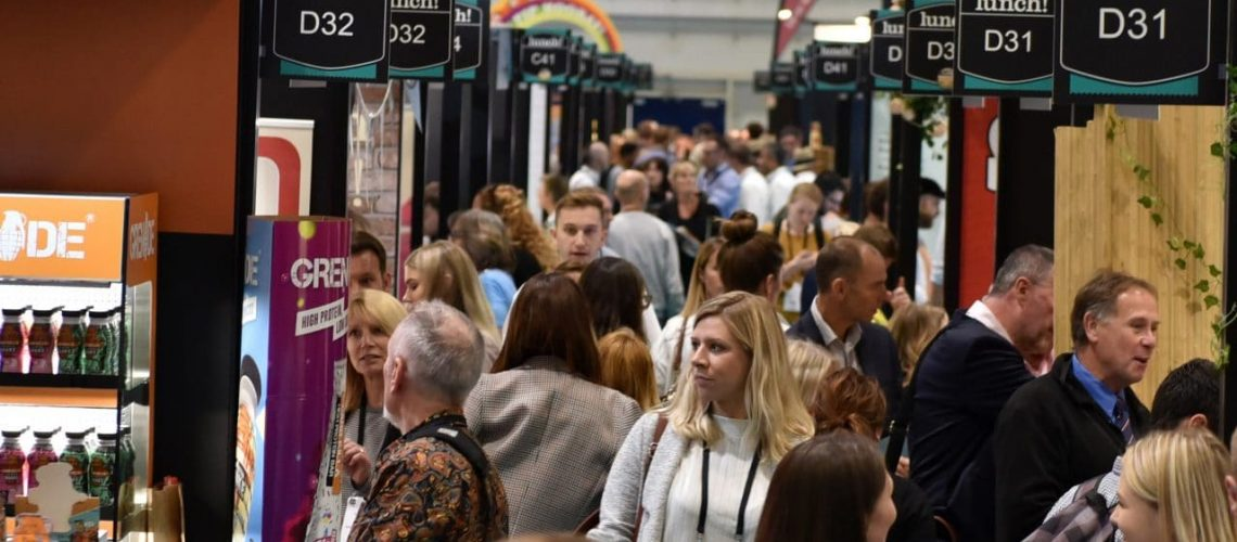lunch! Draws Record Number of New Exhibitors for This Year's Show