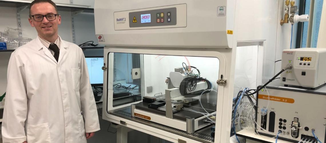 Queen's University Belfast Sees Installation of 3D Bioprinter