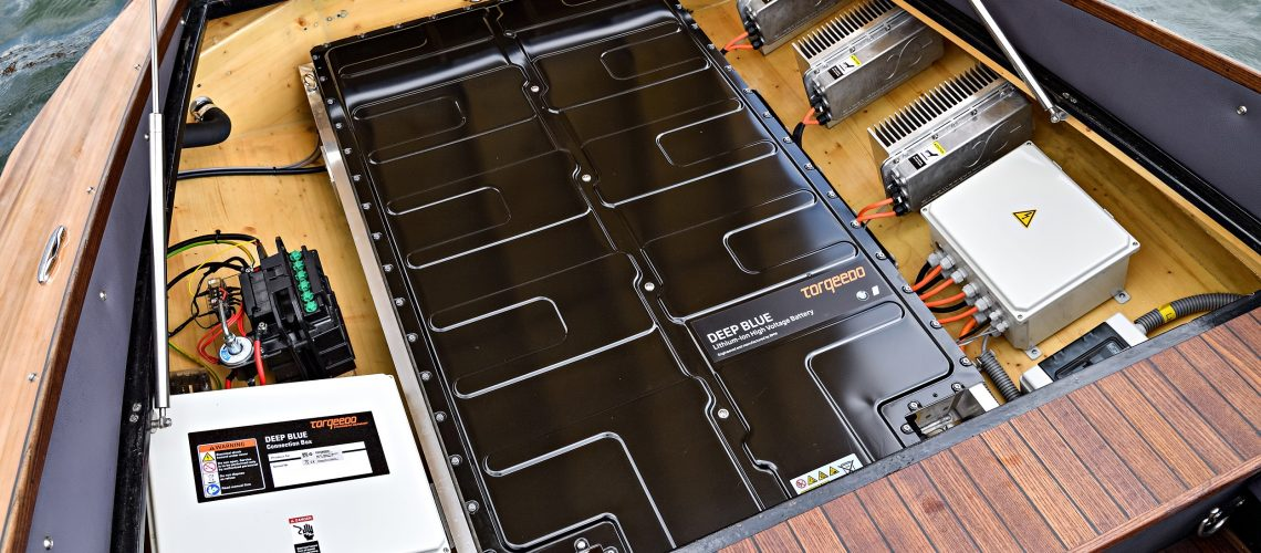 Torqeedo Launches Lithium-Ion Battery for the Marine Market