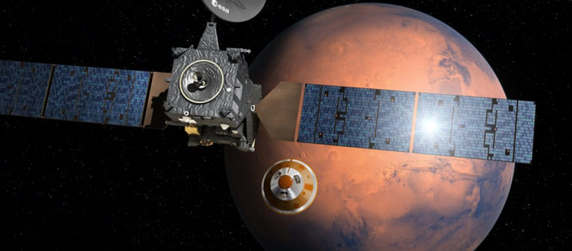 ESA's 13 Year Old Spacecraft To Help Latest Mars Mission