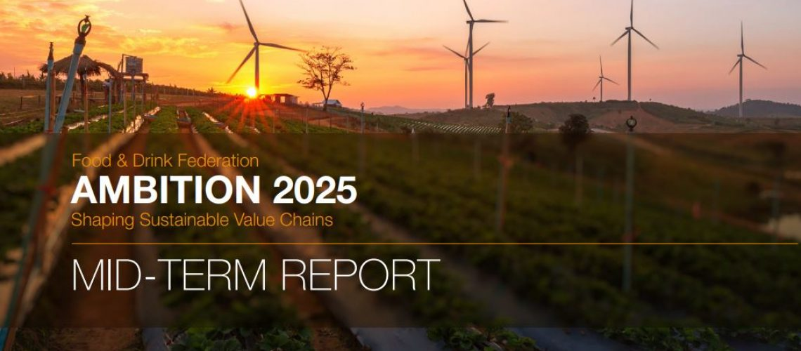 The Food and Drink Federation Publishes Ambition 2025 Progress Report