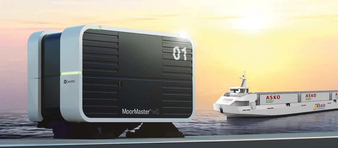 Cavotec Launches Next Generation Moormaster for Ships