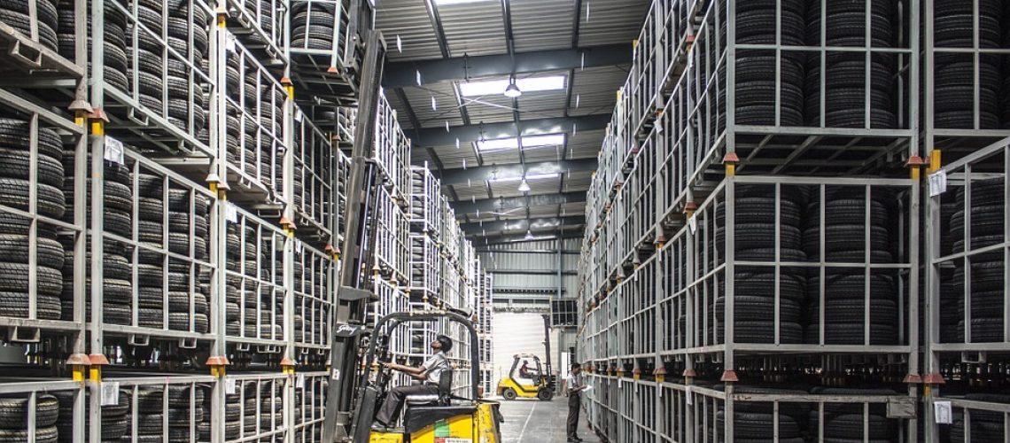 Pallet Machine Worker Warehouse Forklift Industry