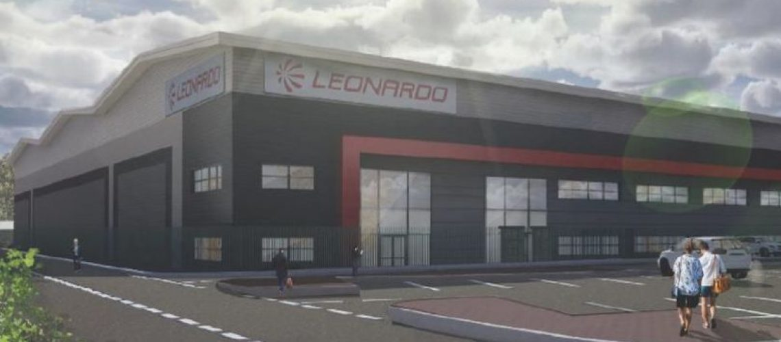 Leonardo Breaks Ground on Advanced New Helicopters Logistics Hub