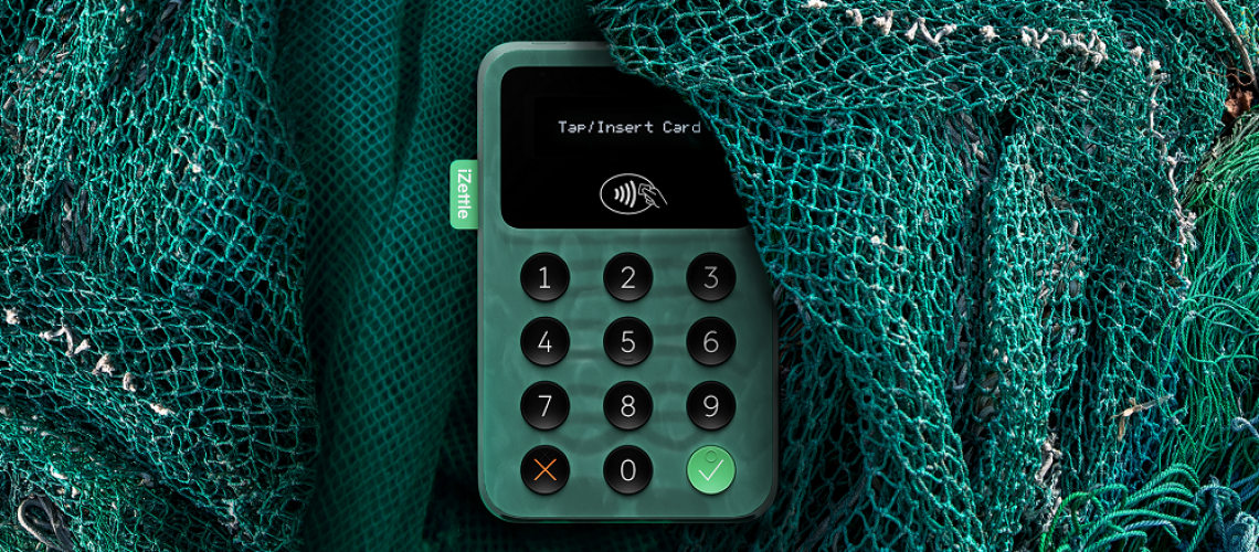 iZettle Launches the World's First Card Reader Made from Recycled Ocean Plastic