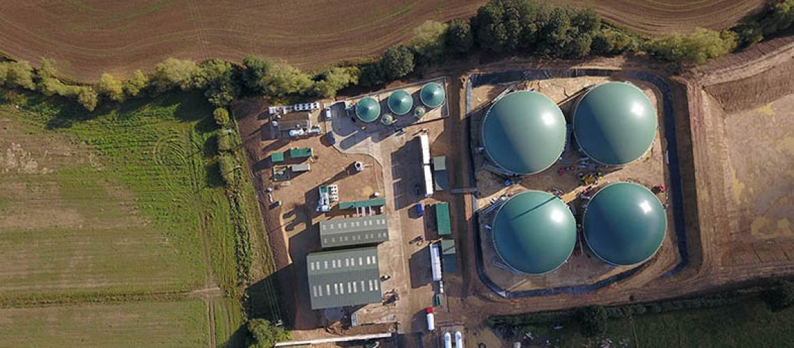UK Biomethane Plant Live After Only Six Month Construction Time