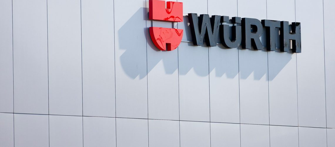 Vilnius/lithuania,May,8,,2019,Wurth,Store.,The,Wurth,Group,Is